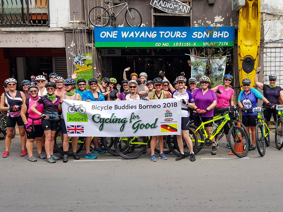 Rainforest bike discovery tour Malaysia