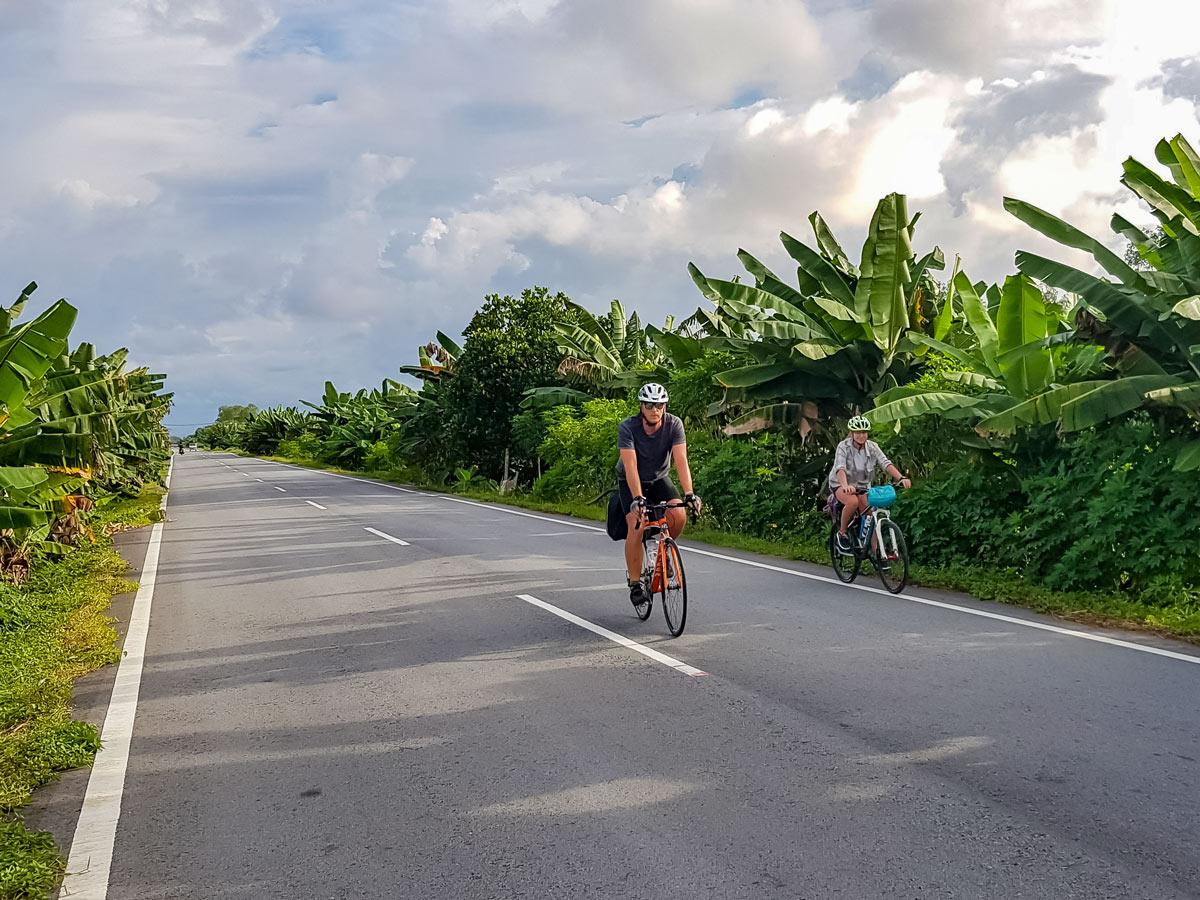 Trans Borneo road bike tour in Malaysia