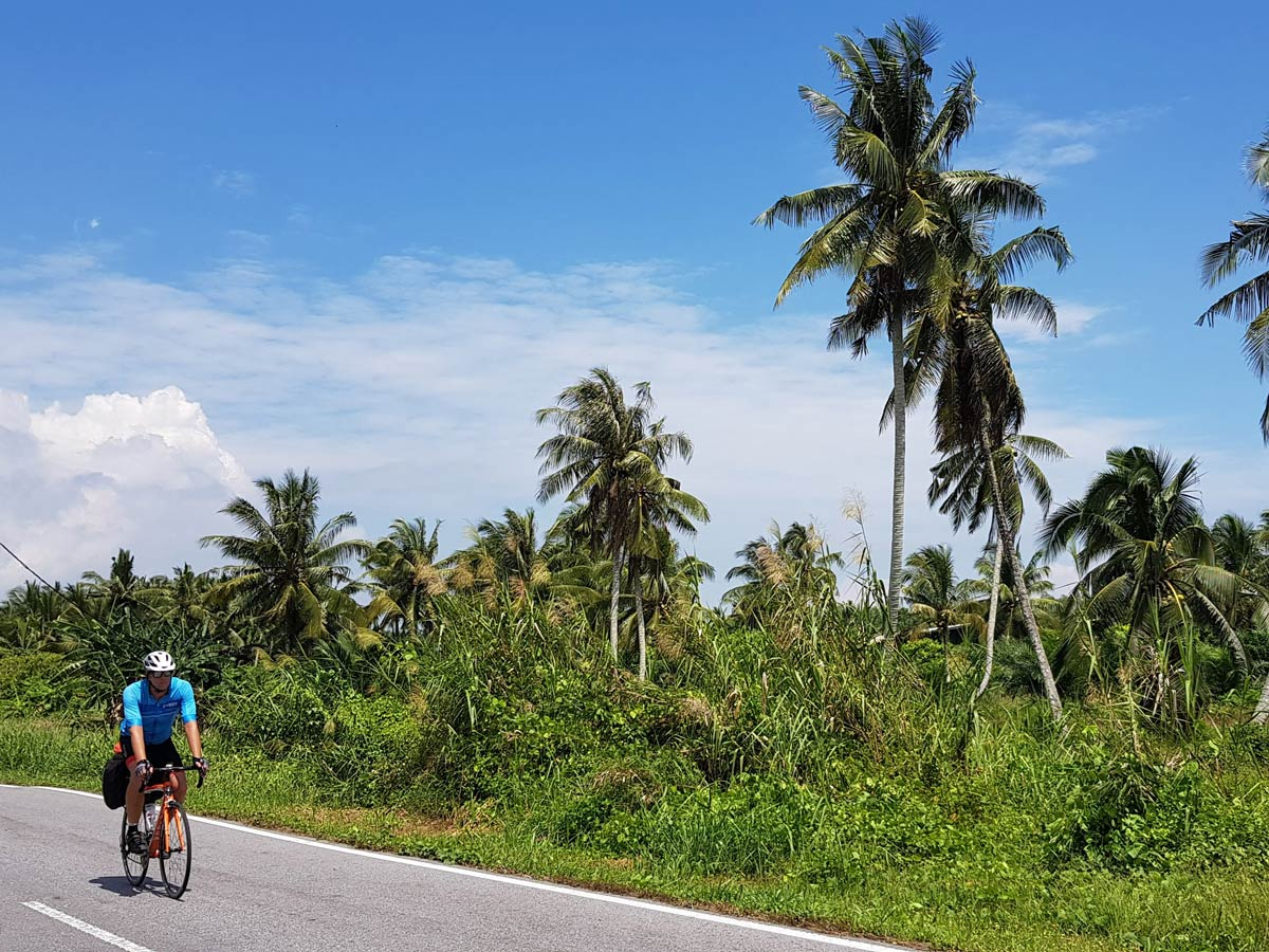 Beautiful Trans Borneo road bike tour Malaysia