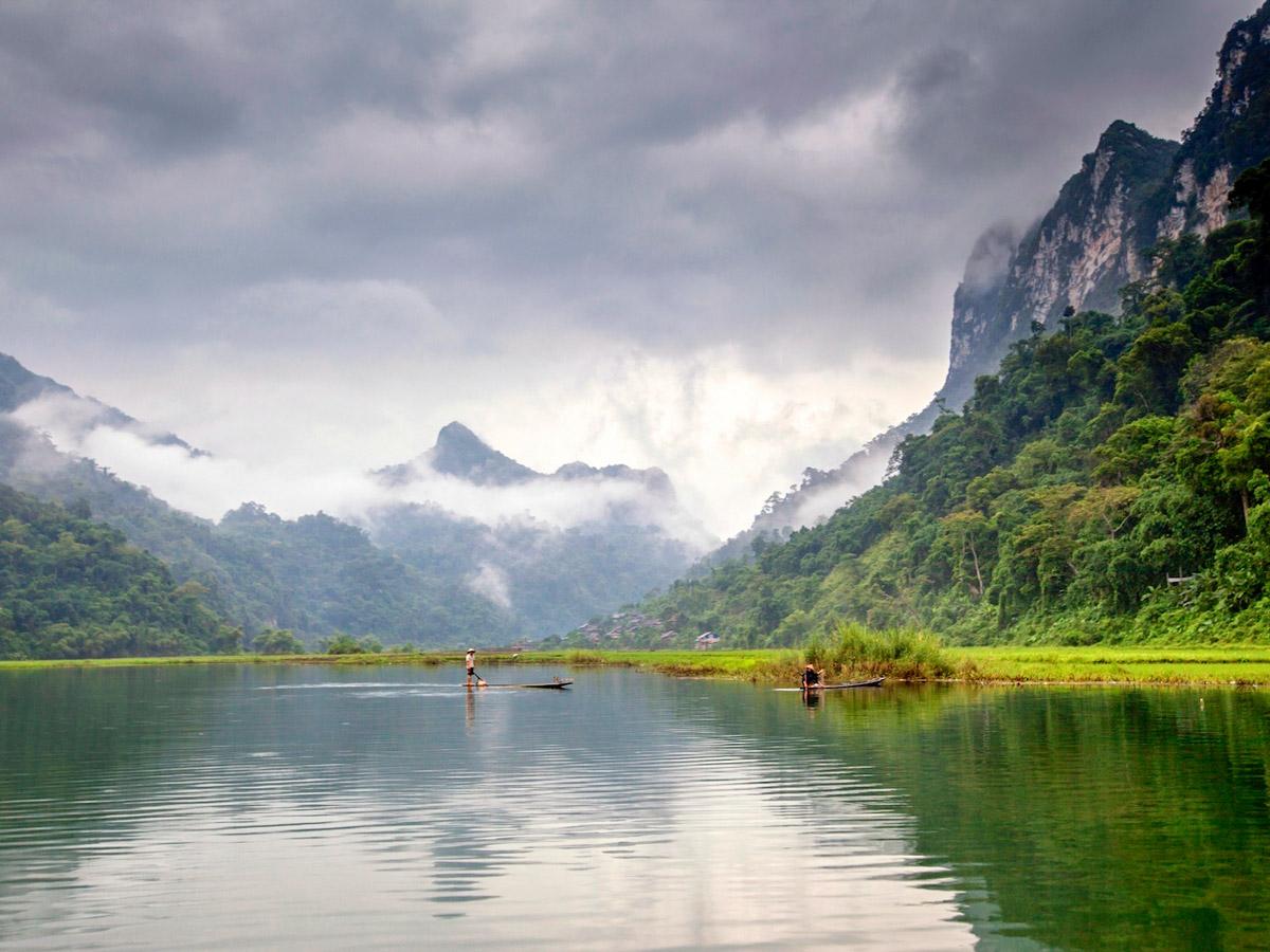 Ninh Binh Van Long in Vietnam