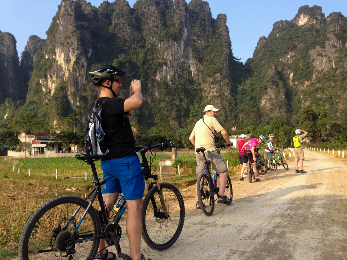 Cycling at central Vietnam is a very rewarding experience