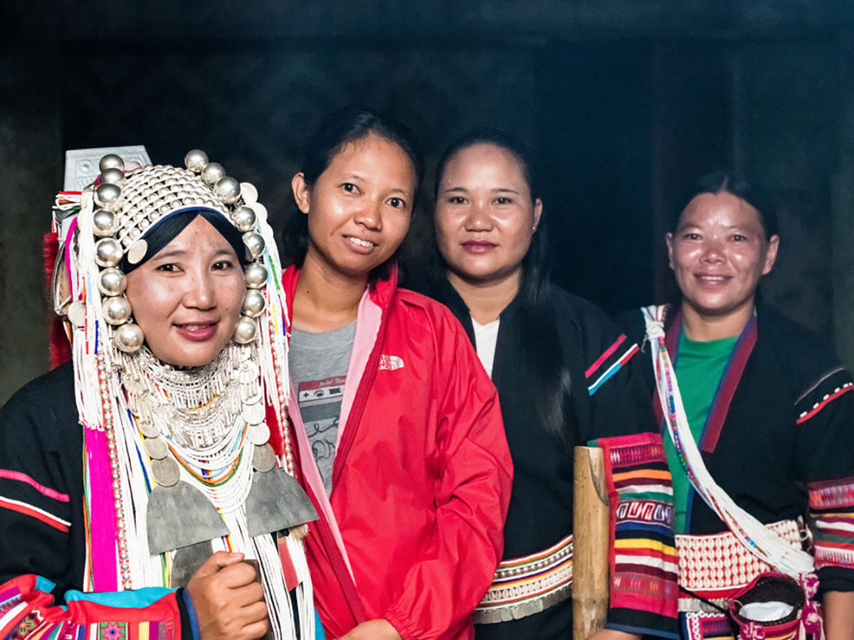 Hilltribe people in Chiang Mai (Thailand)
