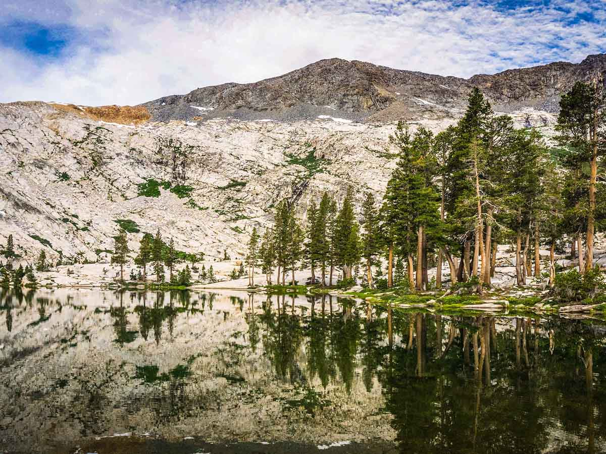 Alpine Lakes in High Sierra Mountains (California)
