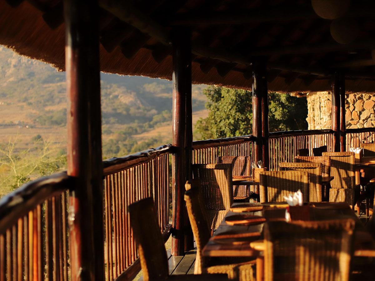 Maguga Lodge restaurant