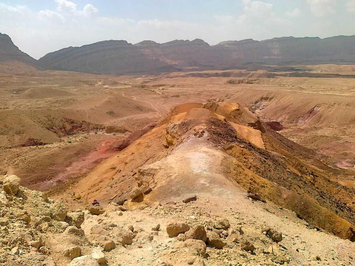Colorful Sand Israel