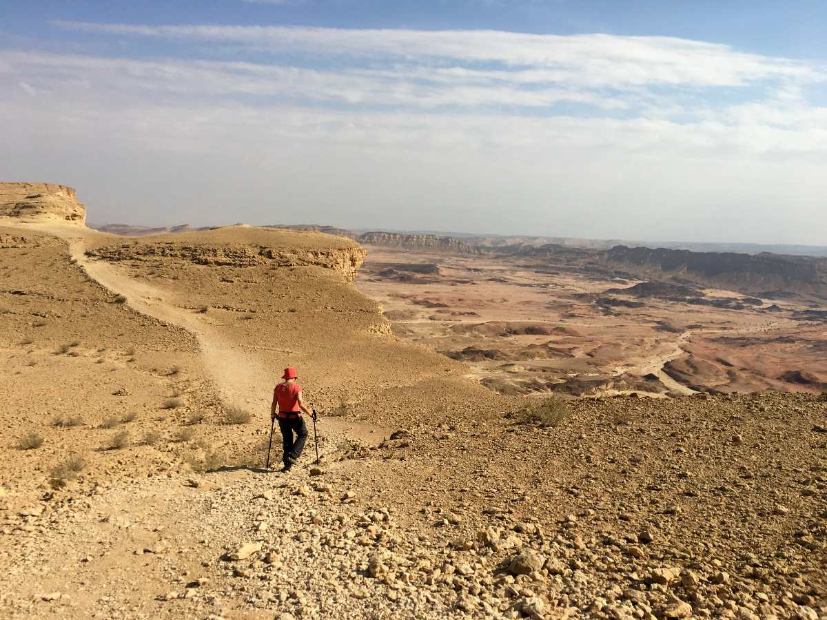 Hiking Above the Crater
