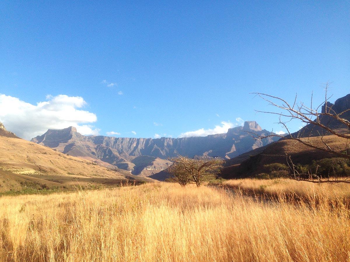 Beautiful mountain views in Northern Drakensberg