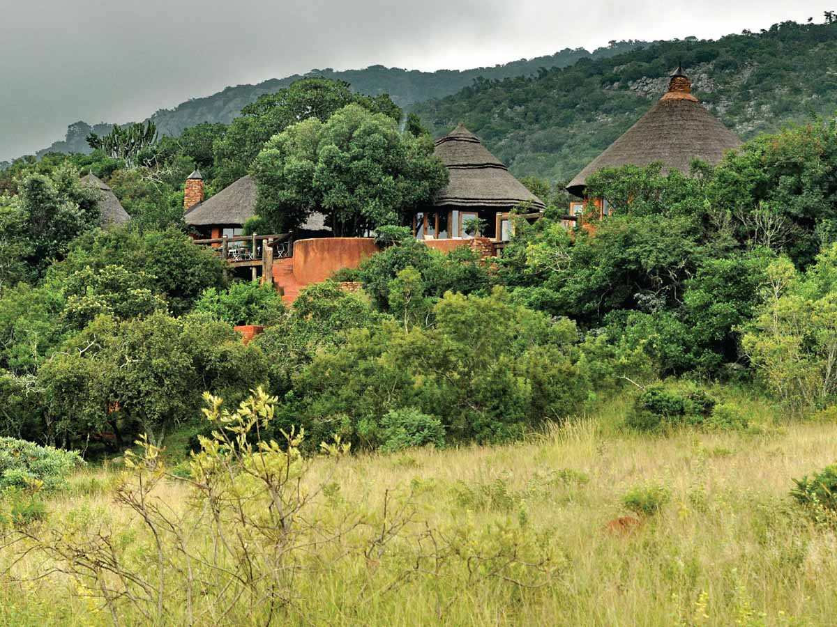 Leshiba views in South Africa seen on guided hiking tour