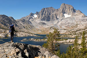 Backpacking in the Sierra Nevada Tour