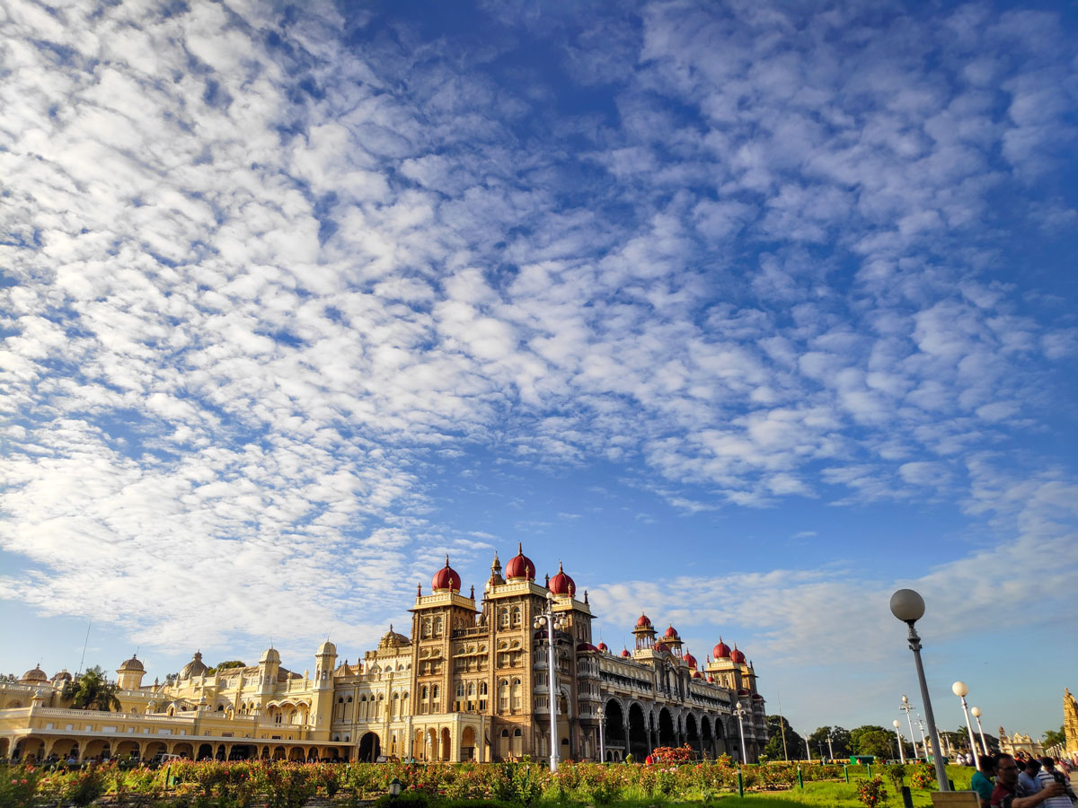 Mysore Palace beautiful arcitecture seen in India