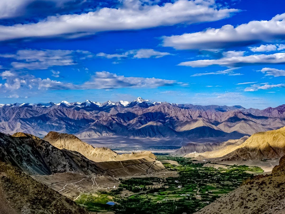Parang La India beautiful views of valley mountains on adventure tour