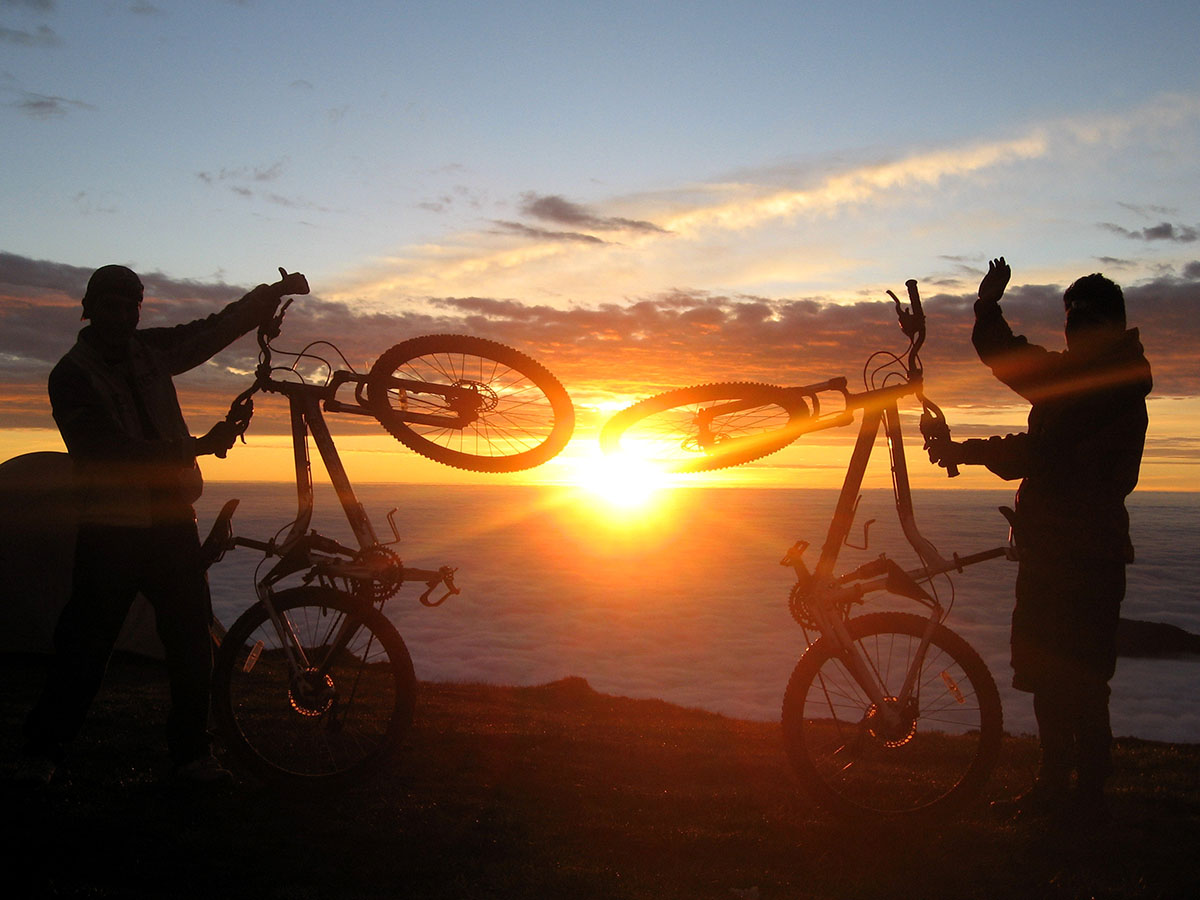Bikes at Tres Cruces