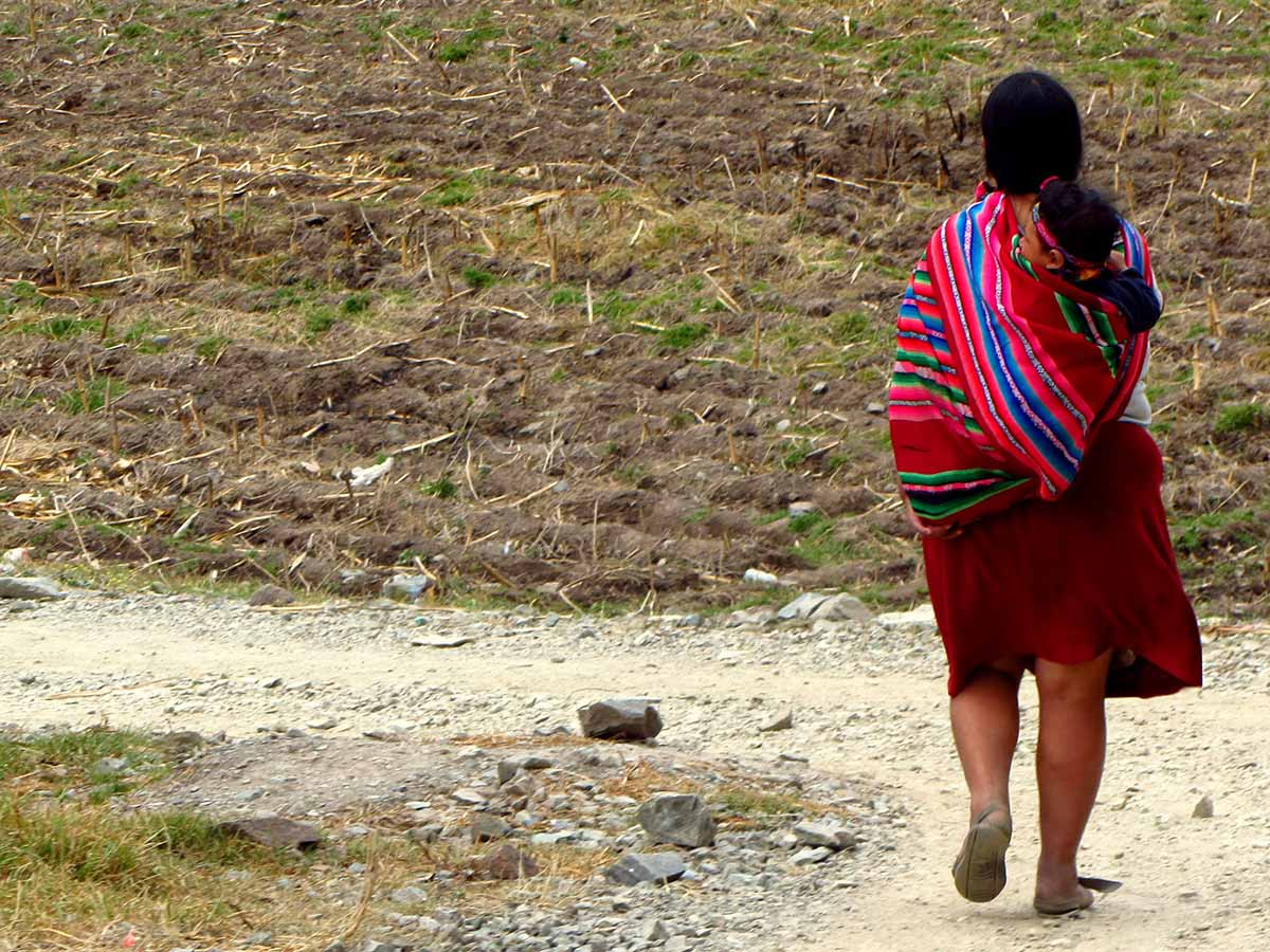Ollanta lady with child