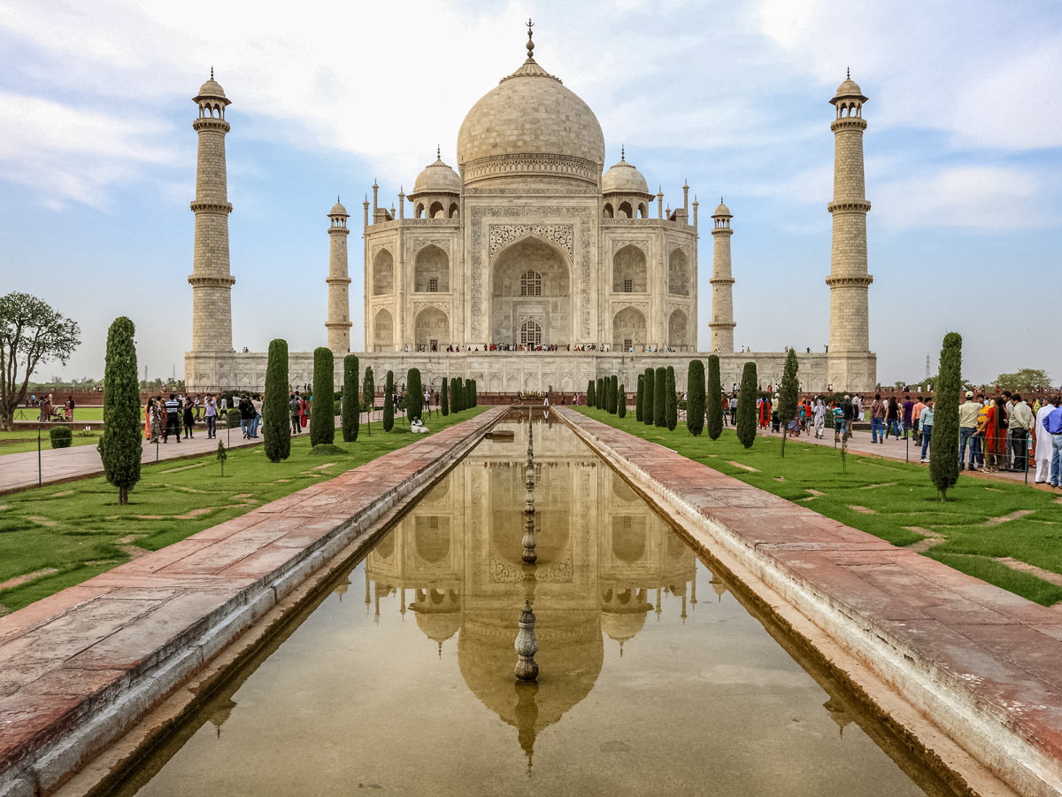 Amazing Taj Mahal in Agra India two day adventure tour