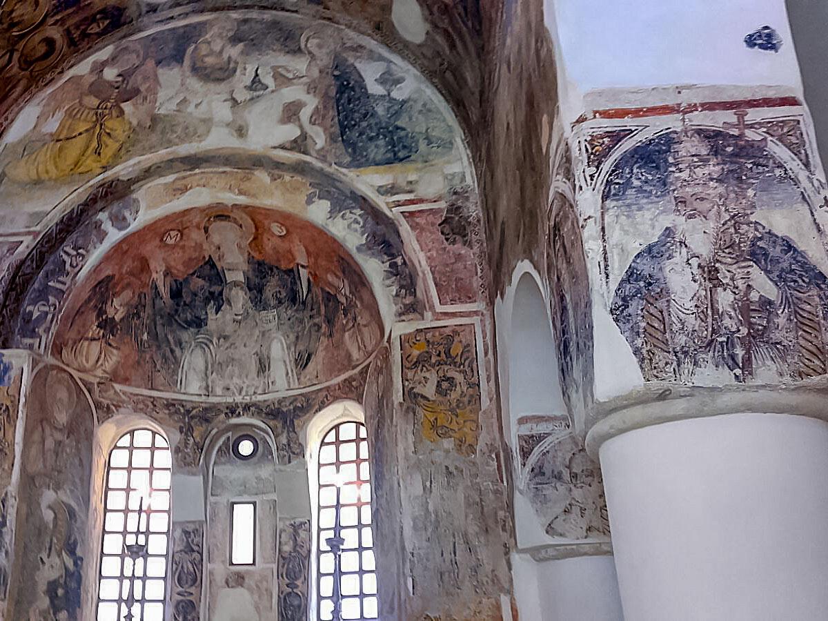 Ancient historic church in Otranto Italy