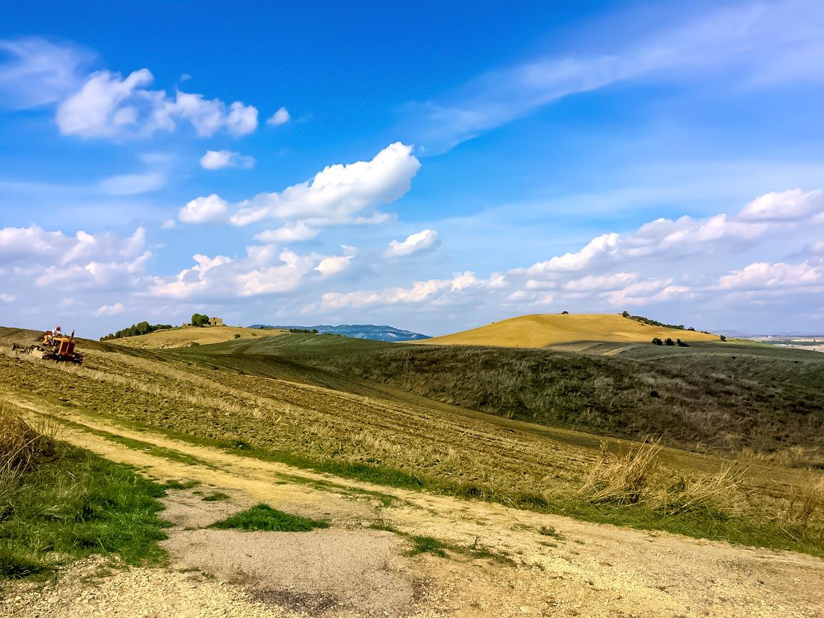 Basilicata farmland pastures hiking walking adventure tour Italy