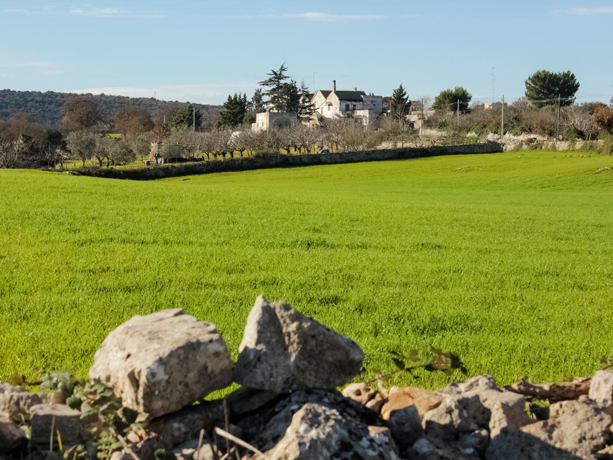 Itria valley farmhouses cycling tour Italy