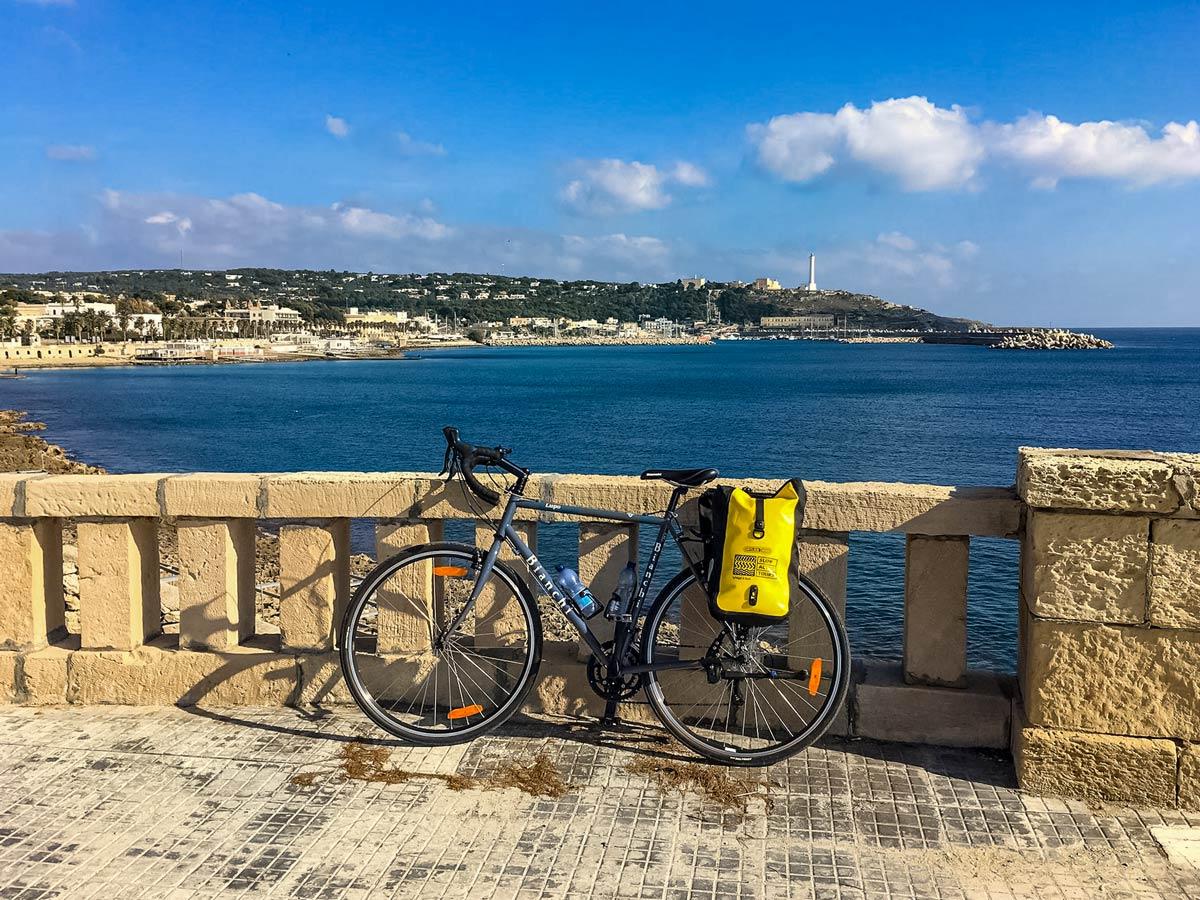 Bianchi Leuca bike ride cycling tour Salento Italy