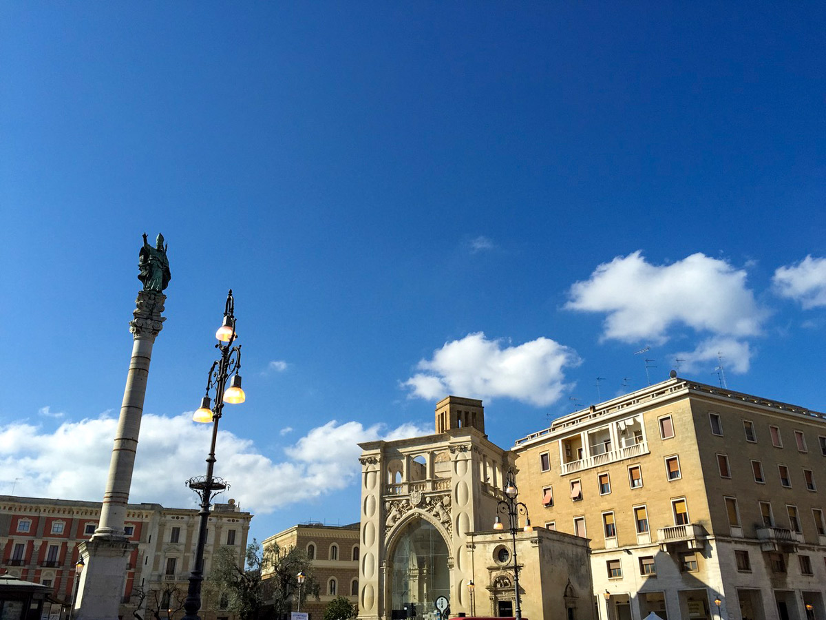 Lecce city bike ride cycling tour Salento Italy