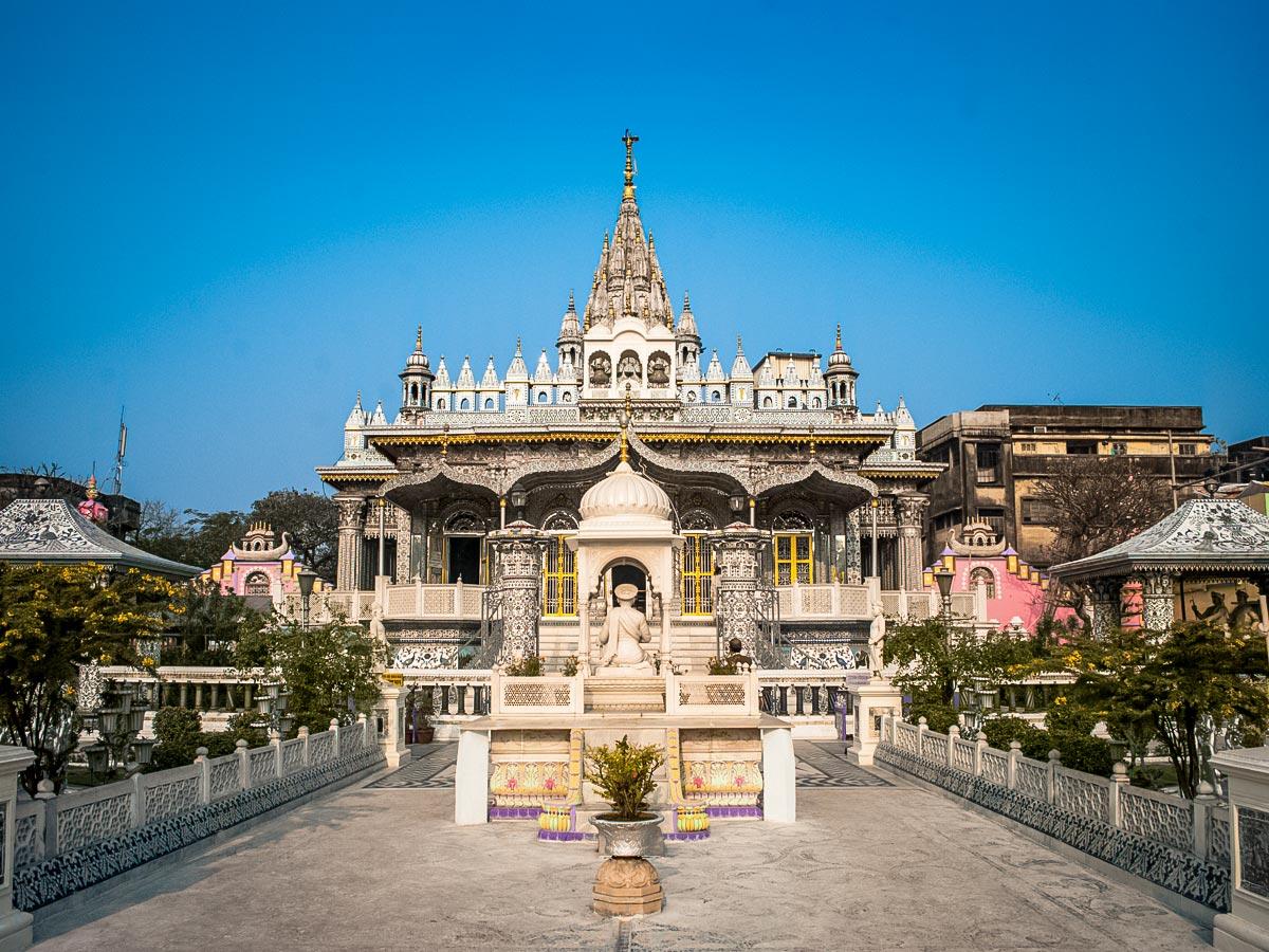TransIndia Jain Temple in Kolkata North East India
