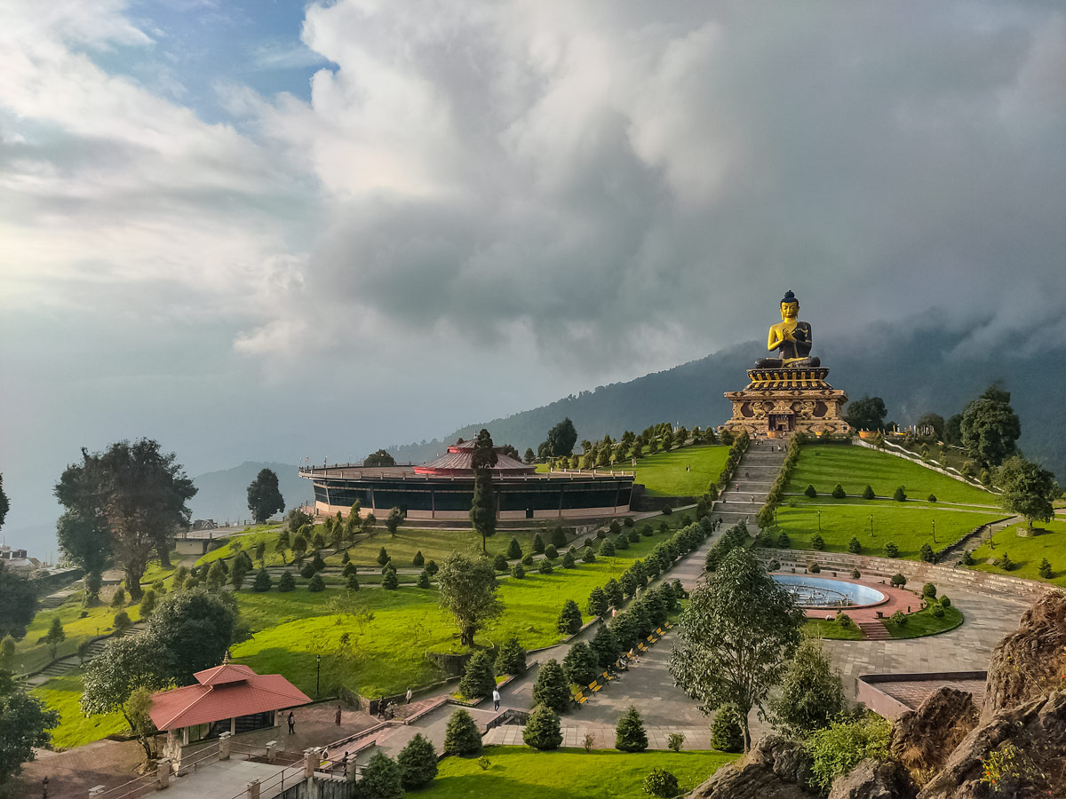 Buddha Park Ravangla Sikkim North East India