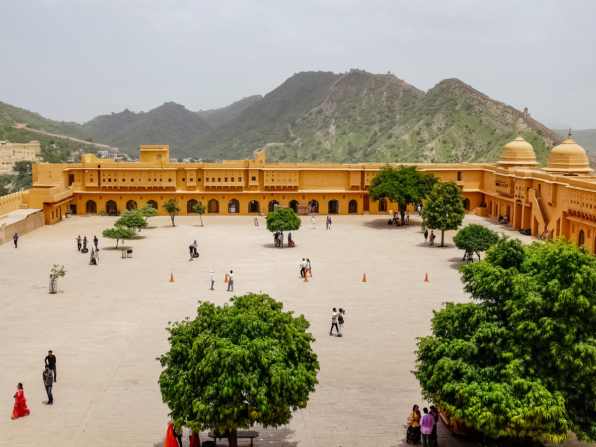 Amber Fort Jaipur exploring forts and palaces India