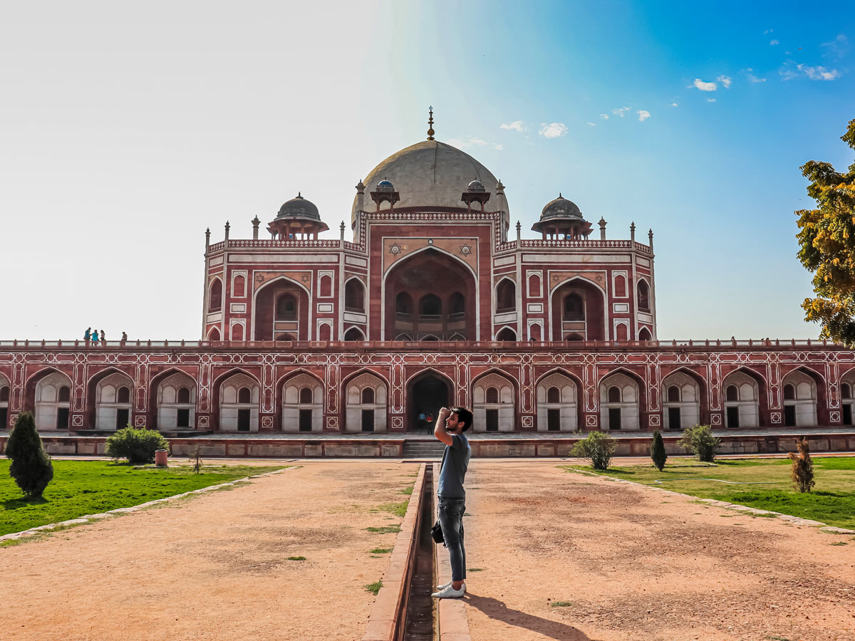 Humayun Tomb Delhi exploring forts and palaces India
