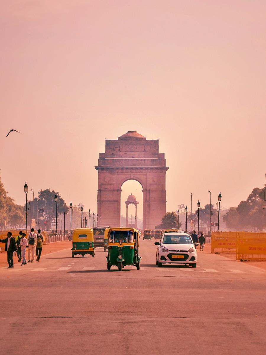India Gate Delhi exploring forts and palaces India