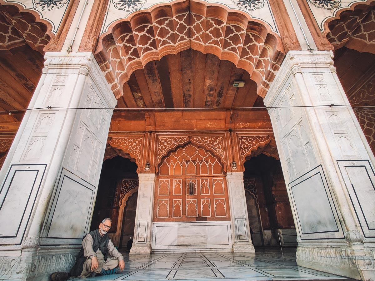 Jama Masjid Chandni Chowk Delhi India exploring forts and palaces India