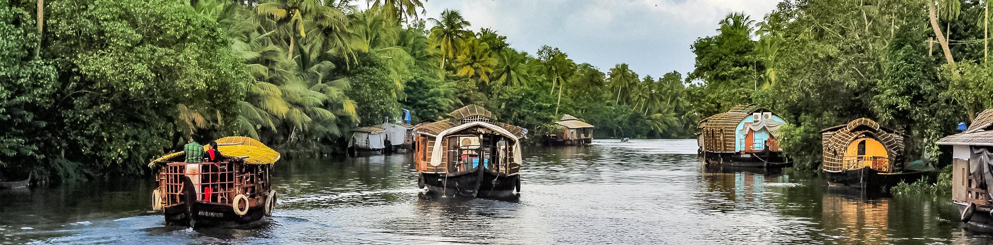 Kerala Houseboat Sightseeing Tour