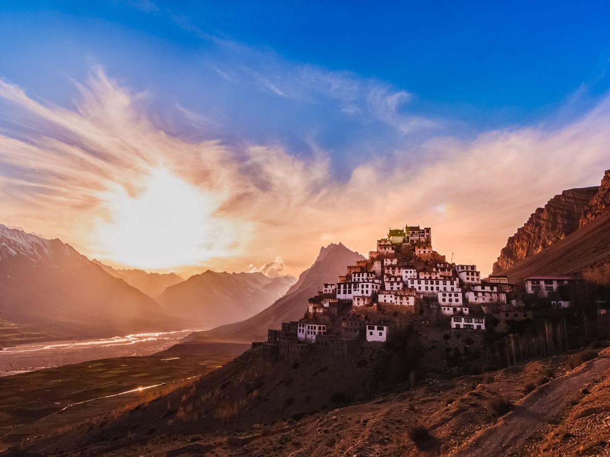 Key Gompa Key Monastery India Lamayuru trekking adventure tour