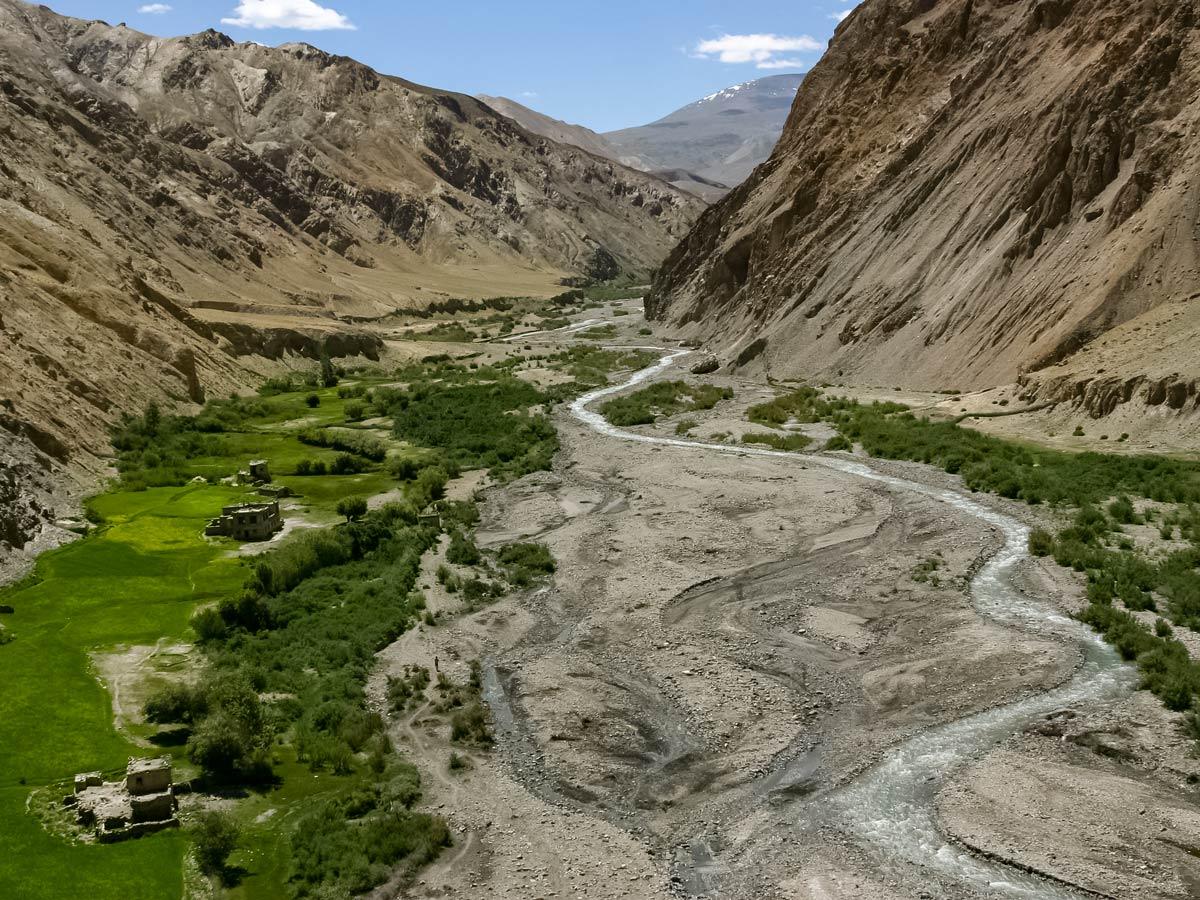 Markha valley river hiking India Lamayuru trekking adventure tour