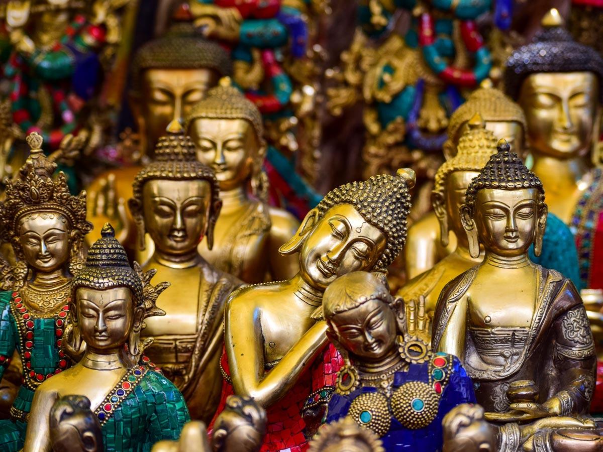 Alchi Monastery Buddha statues India Lamayuru trekking adventure
