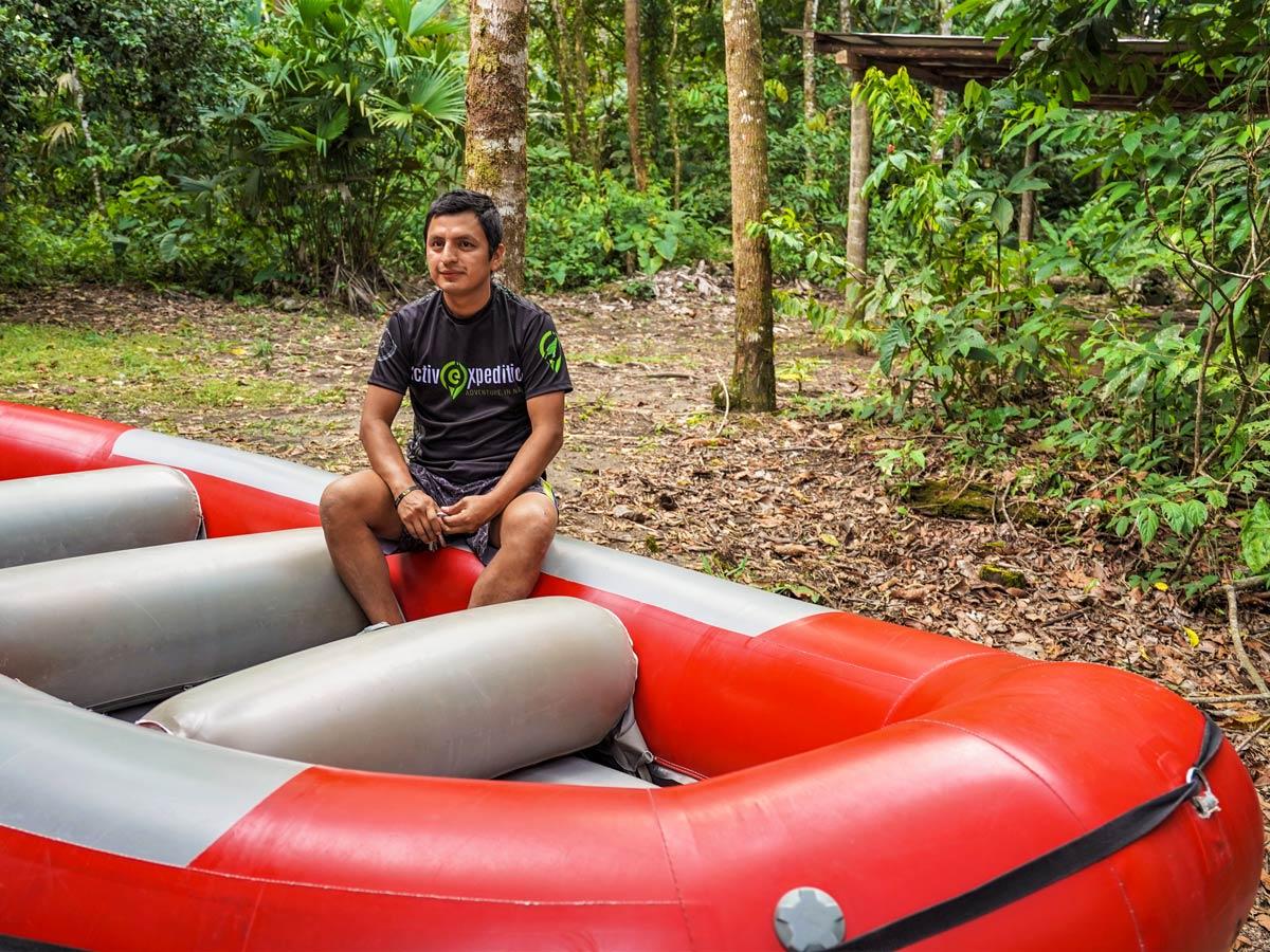 Rafting guide multisport adventure tour photo Peru Ecuador