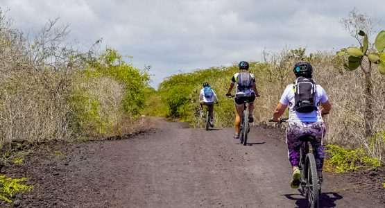 Biking the Galapagos Islands Tour