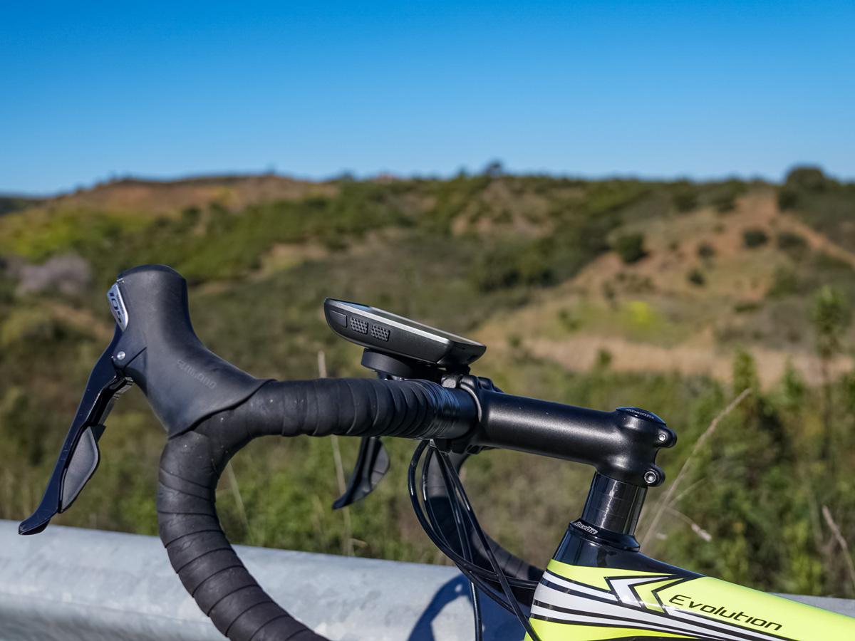 Bike handlebars road cycling adventure bike tour Portugal
