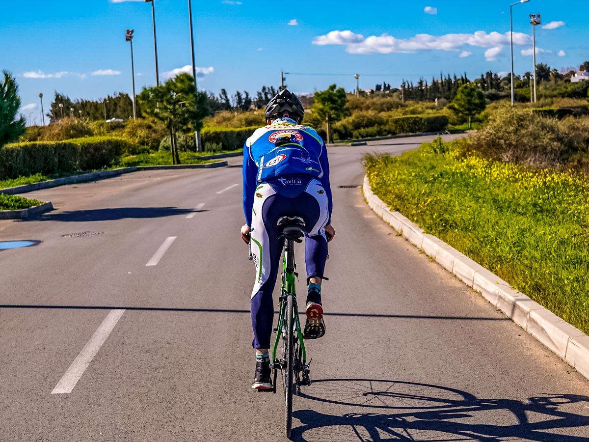 Road biking in Portugal beautiful mediterranean streets
