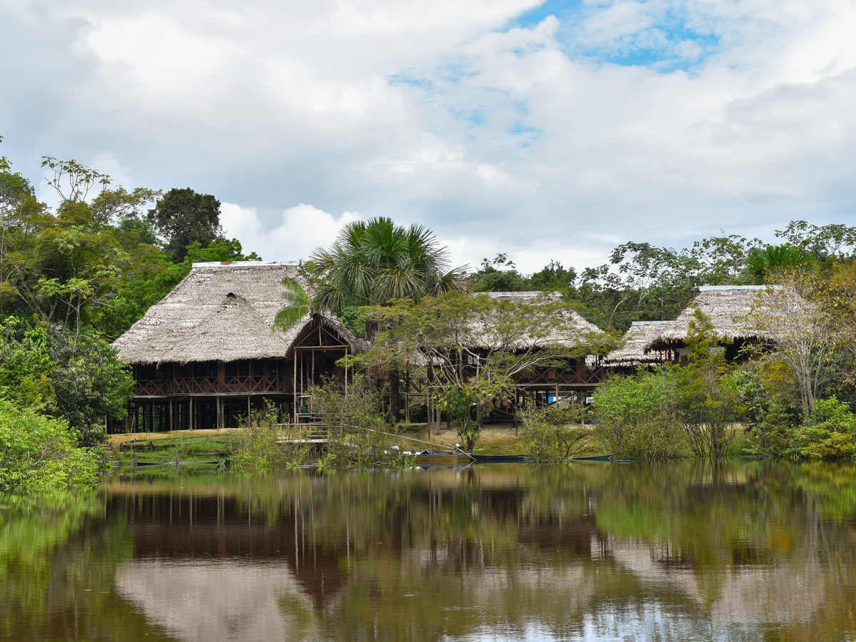 Amazon treehouse cabins camping expedition Peru