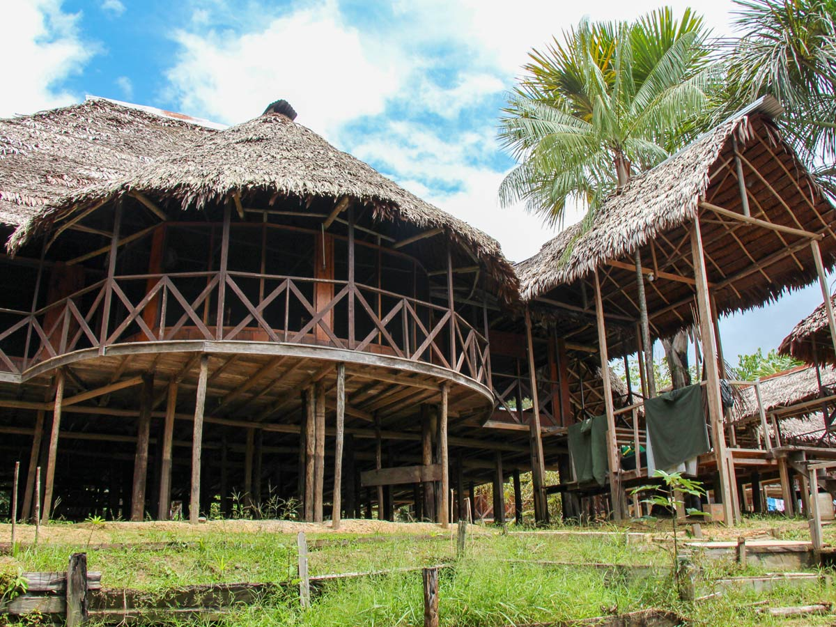 Amazon treehouse resort camping expedition Peru