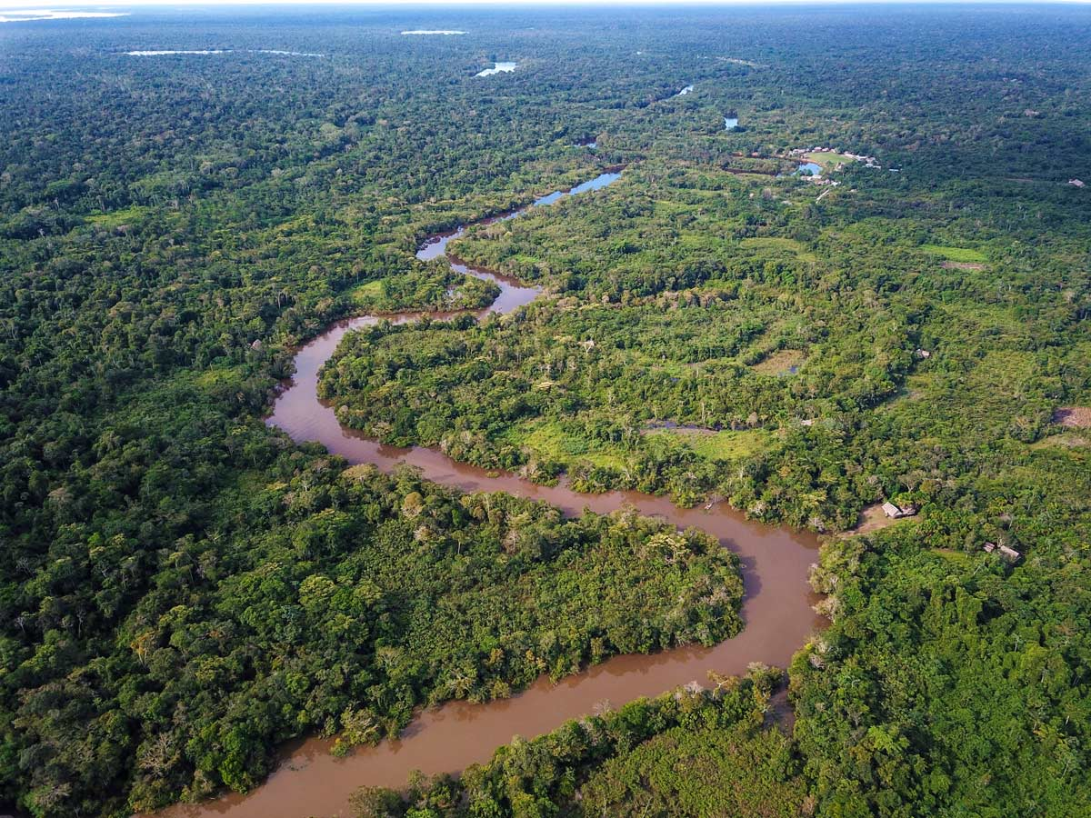 Amazon general tour meadering river jungle Peru
