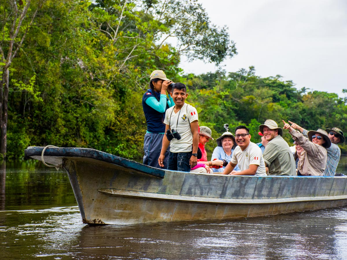 Amazon general tour rainforest river sightseeing boat Peru