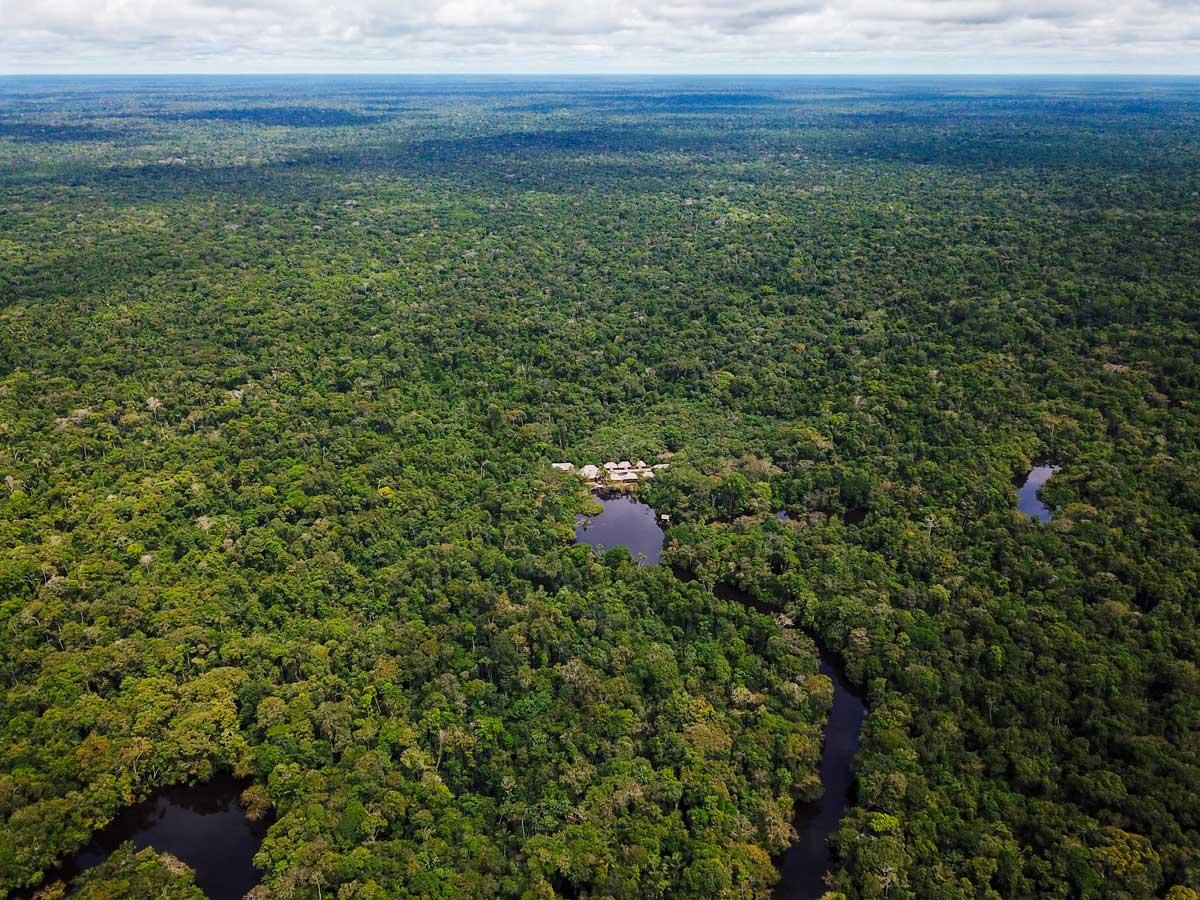 Rural jungle Research Center Peruvian Amazonia Peru