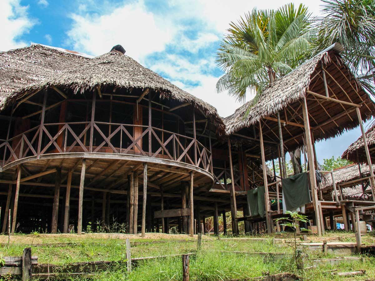 Amazon Research Center main camp jungle lodge Peru