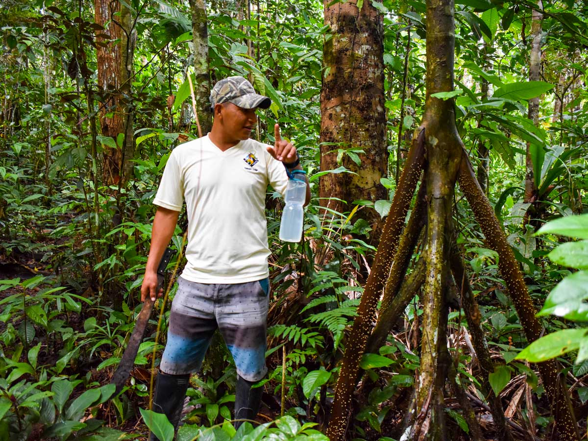 Peru Amazonia wilderness shelter survival training expedition