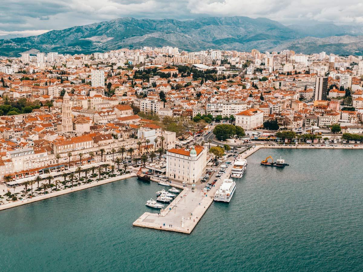 Beautiful Croatia city