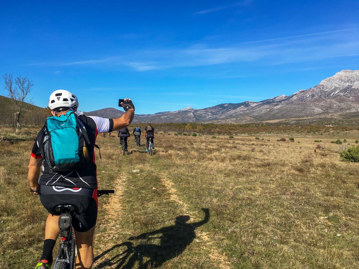 Biking mountains hills mediterranean