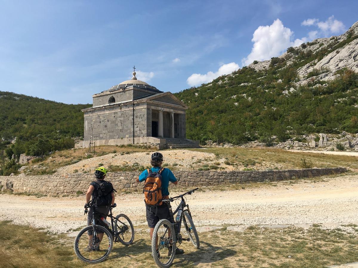 Biking hills landmarks mediterranean