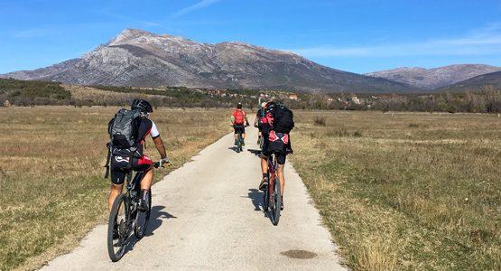 Dalmatia Mountain Biking Tour