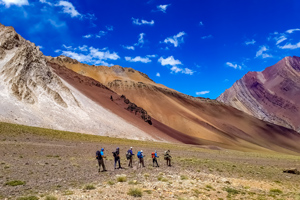 Mount Penitentes Circuit Trek