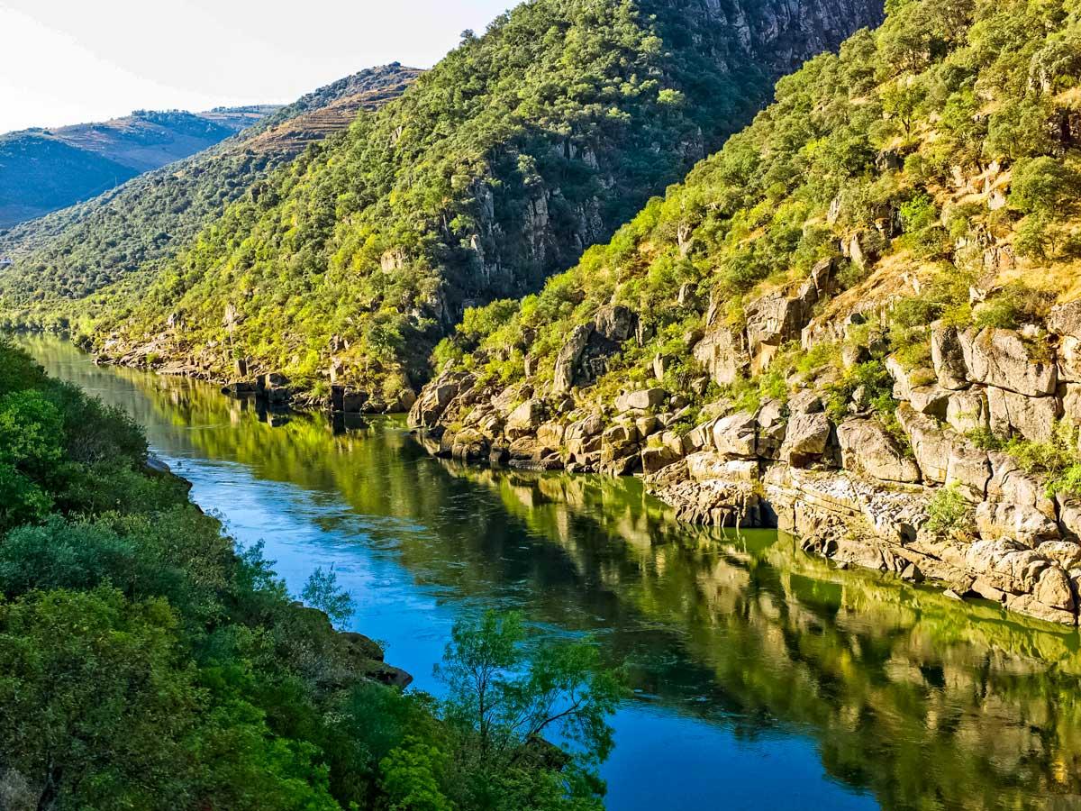 Exploring rivers hills nature